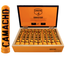 Camacho Connecticut Robusto Tube Box 20